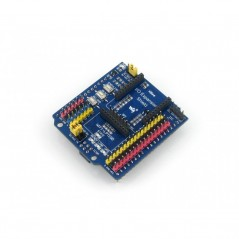 IO Expansion Shield (Waveshare) 3/4pin sensor interfaces, XBee / WIFI-LPT100 wireless connector