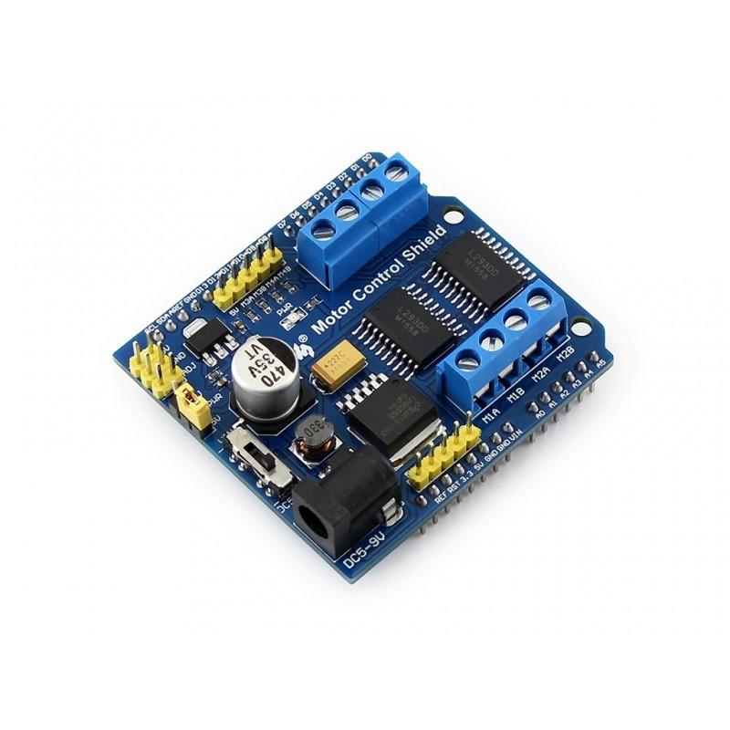 Motor control shield waveshare for 4 dc motors or 2 for Charity motors bridge card