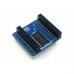 IS62WV12816BLL SRAM Board (Waveshare)  2Mbit (128K x 16bits) memory