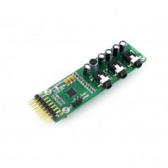 UDA1380 Board (Waveshare)  Stereo audio codecs based on I2S interface