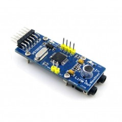 VS1003B MP3 Board (Waveshare) Complete audio solution, MP3 decoder included