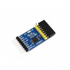 W25QXX DataFlash Board (Waveshare) Serial DataFlash Module W25Q128FV, SPI/QPI