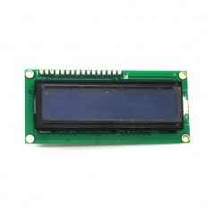 UART Serial 2x16 LCD LCM Display Module Blue B.L. 5V (IM130129002) universal use for Arduino,..
