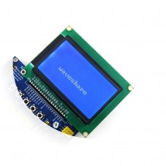 LCD12864-ST - 3.3V Blue Backlight (Waveshare)