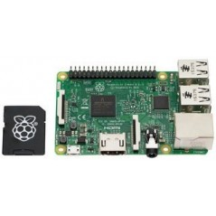 RASPBERRY-PI  RPI3-MODB-16GB-NOOBS  Raspberry Pi 3 Model B & 16GB MicroSD card preloaded NOOBS