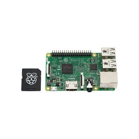 RASPBERRY-PI  RPI3-MODB-16GB-NOOBS  Raspberry Pi 3 Model B & 16GB MicroSD card preloaded NOOBS