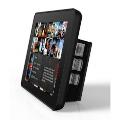 Raspberry Pi and LCD Touch Screen Case, Black (906-4665)
