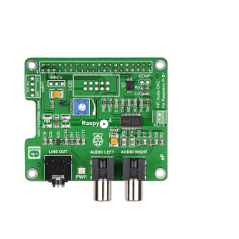 RaspyPlay4 (MIKROE-1767) Add-On for Pi B+/Pi 2 / Pi 3 with DAC PCM5122
