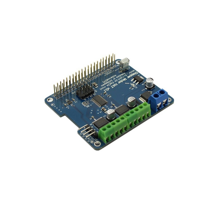 Stepper Motor HAT for Raspberry Pi A,B, Pi2/Pi3 (ER-RPA20089H)
