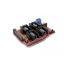 Arduino CNC Shield V3.51 - GRBL v0.9 compatible - Use Pololu Drivers (ER-CDP03051C)