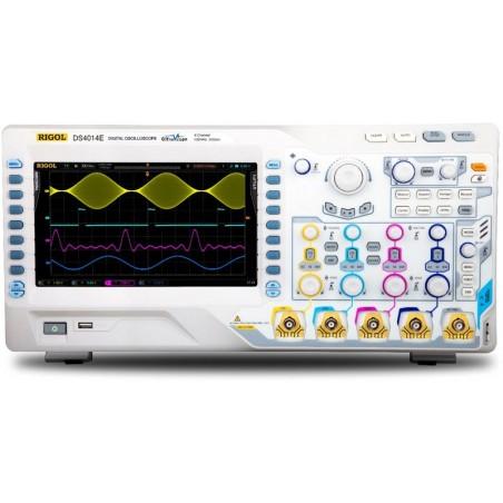 DS4014E (Rigol) 4x100MHz , 2GSa/s sample rate, 14mil. memory points, 60.000 Waveforms/s