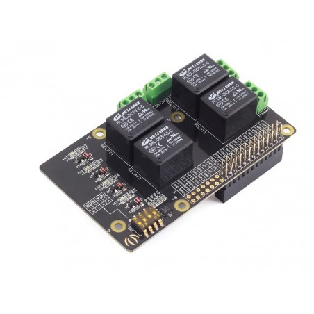 Raspberry Pi Relay Board v1.0 (Seeed 103030029)