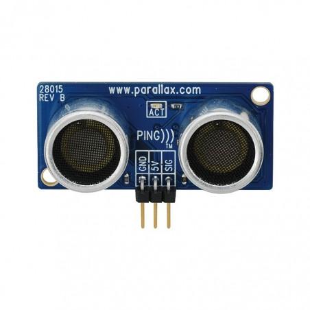 28015 PARALLAX PING))) Ultrasonic Distance Sensor
